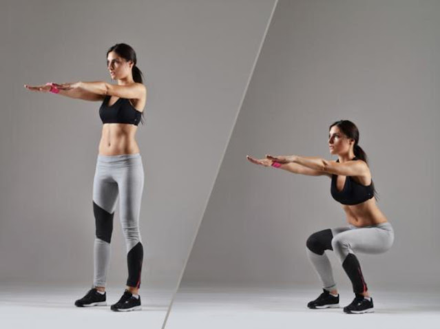 Squats to increase glutes