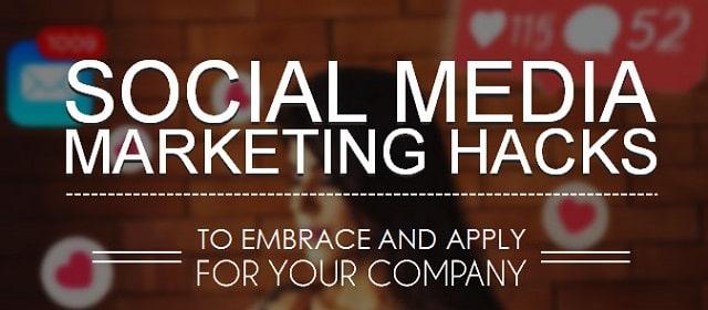 social media marketing hacks before starting agency