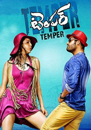 Temper 2015 HDRip UNCUT 450MB Hindi Dubbed Dual Audio 480p Watch Online Full Movie Download bolly4u