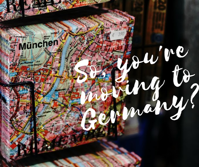 So, you're moving to Germany? {a Piri Sojourner}