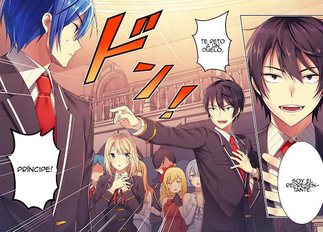 Manga Otome Game Sekai wa Mob ni Kibishii Sekai Desu muestra la portada de su volumen 4