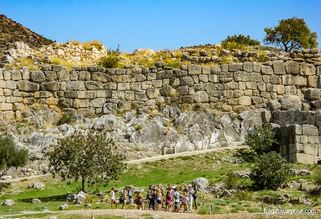 Muralhas de Micenas, Grécia