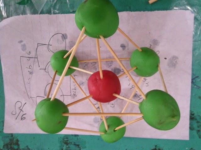 Portofolio Praktikum Siswa Kelas 10 Bentuk Geometri Molekul
