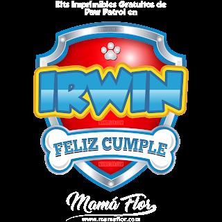 Logo de Paw Patrol: IRWIN