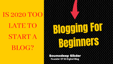 Is It Too Late To Start A Blog -Blogging For Beginners