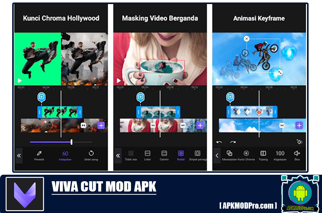 VivaCut Pro Editor Video MOD APK 1.2.5 [MOD Premium Features] Terbaru 2020