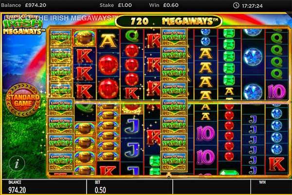 Main Gratis Slot Indonesia - Luck O' The Irish Megaways (Blueprint Gaming)