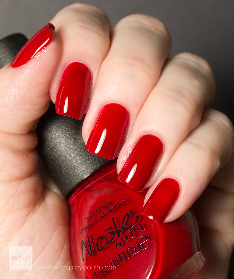 Nicole by OPI Kellogg's Special K Challenge Red-y