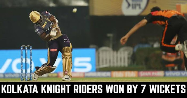 Kolkata Knight Riders won by 7 Wickets
