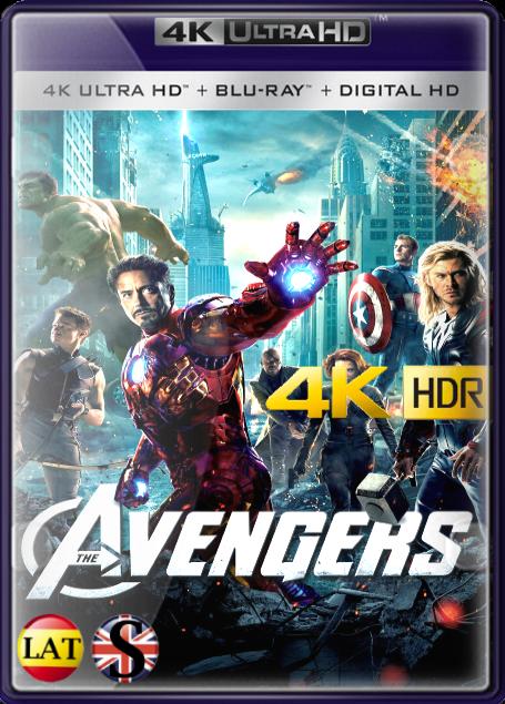 Los Vengadores (2012) 4K UHD HDR LATINO/INGLES