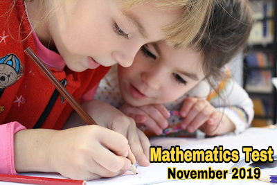 Mathematics Test - November 2019 | The AK Tuition