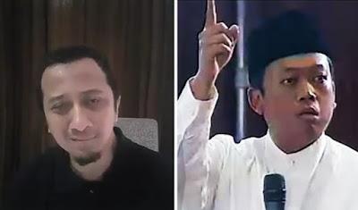 Ustadz Yusuf Mansur Menangis Melihat Nusron Wahid Menghina Ulama Di ILC