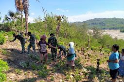 Alfat Denny Andrian Ungkapkan Partisipasi TNI Saat Masa Tanam di Bauho