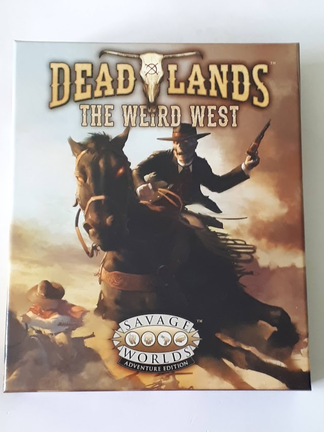 Deadlands: the Weird West & Horror at Headstone Hill