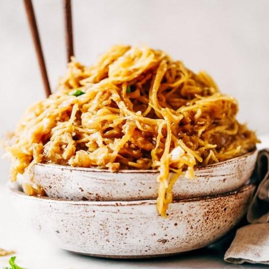Spicy Spaghetti Squash Noodles