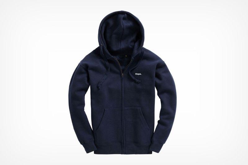 sustainable self-cleaning hoodie