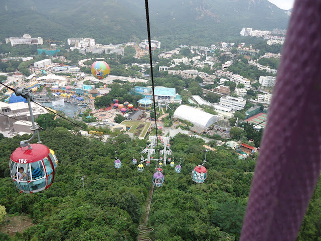 Cable Car in Hongkong Ocean Park