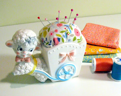 Vintage Planter Pin Cushion Tutorial