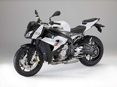 BMW S 1000 R in white picture