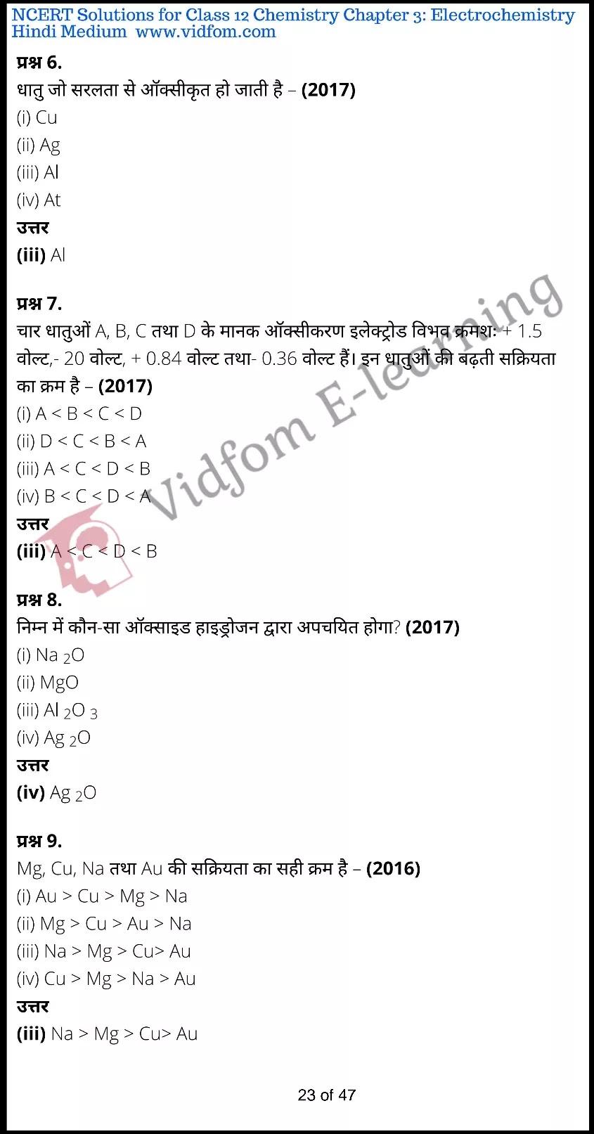 class 12 chemistry chapter 3 light hindi medium 23