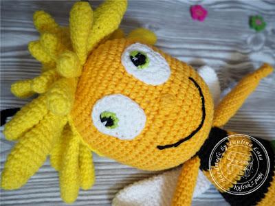 Pszczółka Maja amigurumi