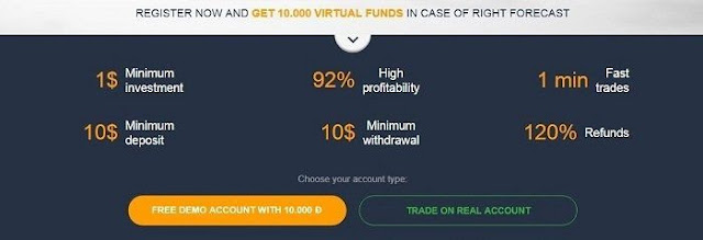 How to open a demo, real and VIP account OlympTrade