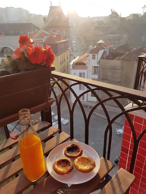 Porto lägenhet med balkong