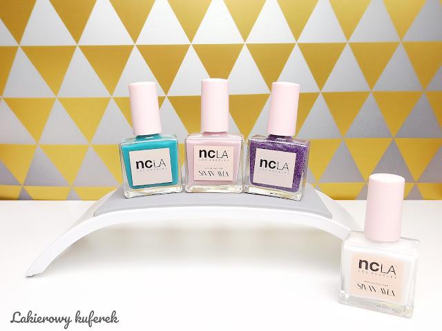 Lakiery NCLA, zwykłe lakiery NCLA, opinia o lakierach NCLA, lakiery wolne od szkodliwych substancji, lakierowy kuferek, brak substancji toksycznych, 7 free, uczulenie na hybrydy