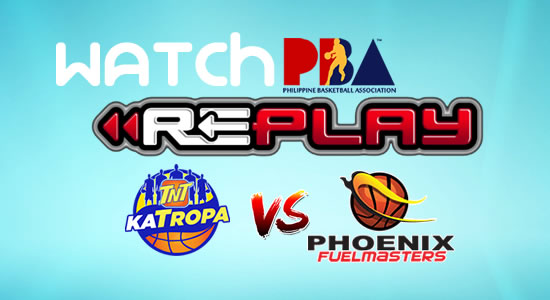 Video List: TNT vs Phoenix game replay March 4, 2018 PBA Philippine Cup