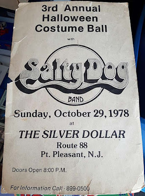 Salty Dog at The Silver Dollar club Point Pleasant, New Jersey for 3rd annual Halloween Bash October 29, 1978