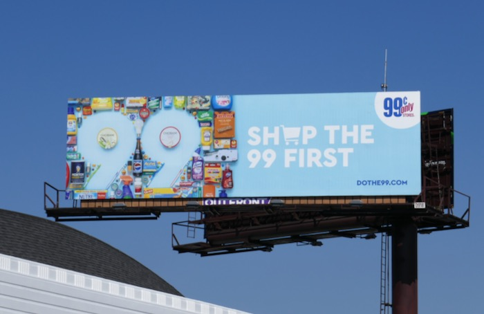 Shop the 99 first billboard