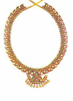 Sale news and Shopping details: Prince Necklace designs  Davanam