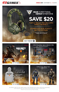EB Games Flyer October 12 - 18, 2018