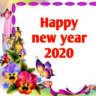 Happy New year 2020 image shayari & sms