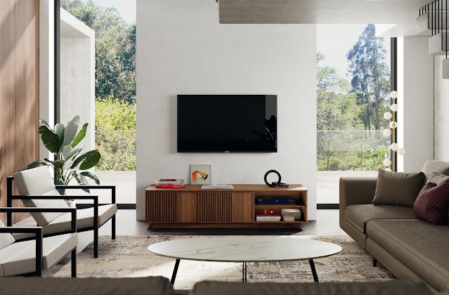 Elegant TV cabinet in Home Decor