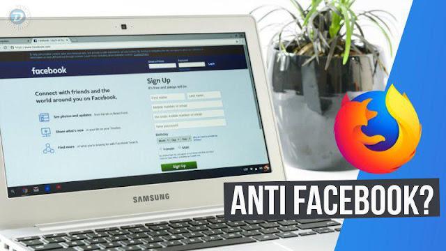 Mozilla disponibiliza extensão que bloqueia o rastreio do Facebook fora da rede social