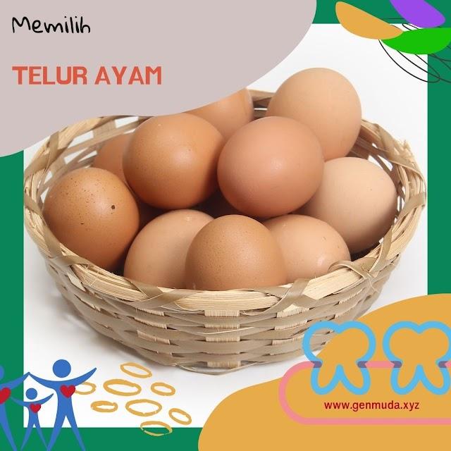 Trik dan Tips Memilih Telur Ayam Layak Konsumsi
