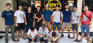 Dua Penadah Barang Curian Ditukar Narkoba Jenis Sabu dan Residivis Kambuhan Dibekuk Polres Lotim