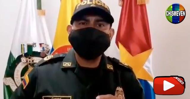 Venezolana capturada cometiendo un robo en una joyería de Colombia