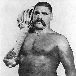 THE GREAT GAMA (GHULAM MUHAMMAD BUTT)