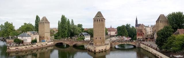 I Ponti Coperti sono uno dei simboli di Strasburgo