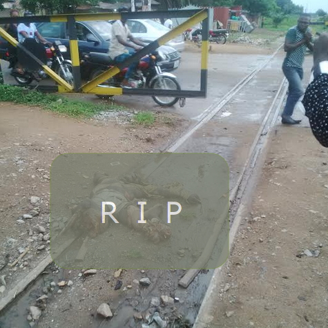 man crushed train makurdi benue state