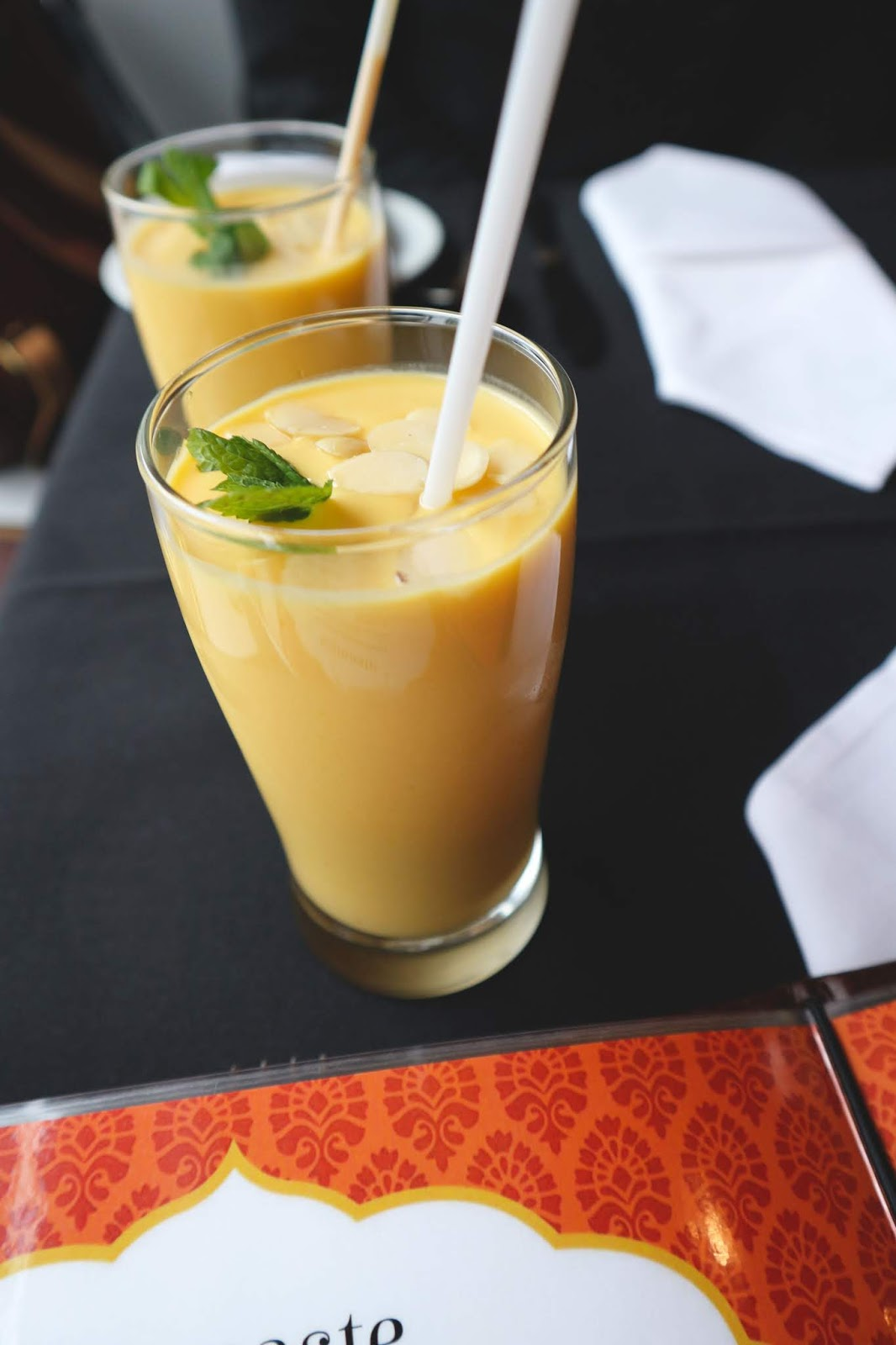 Namaste Kingston - New Indian Restaurant - Mango Lassi