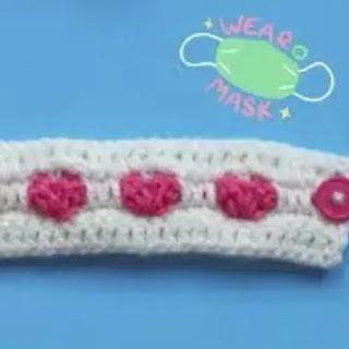 Salva Orejas a Crochet