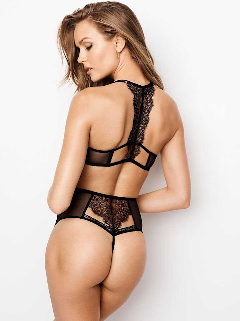 Josephine Skriver in Victoria's Secret Photoshoot – September Latest