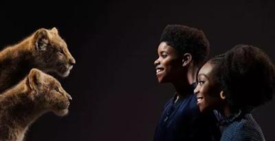 JD Mccray Sebagai Simba Muda dan Shahadi Wright sebagai Nala Muda
