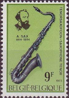Belgium SaxophoneAdolphe Sax 1973-Music Instruments Musique-Misik-Muziek