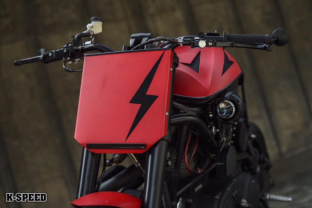 Buell X1 Lightning By K-Speed Hell Kustom