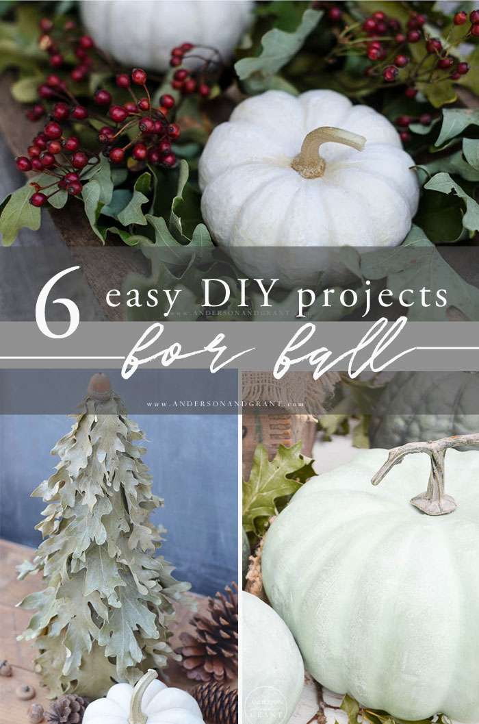6 Fall DIY Projects