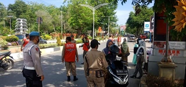 Tekan Penyebaran Covid-19, Tim Gabungan Gencarkan Operasi Yustisi di Kota Langsa